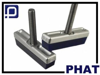 Bremsbeläge PhatWorks V-Brake - silber