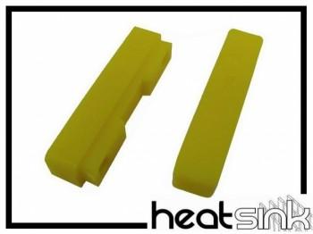 Ersatz-Bremsbeläge Heatsink - gelb