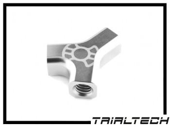 Trialtech Y-Verteiler für Hydraulikleitung - silber