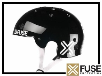 Helm Fuse Icon - schwarz