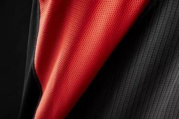 Jersey Jitsie Airtime kurzarm - schwarz/rot