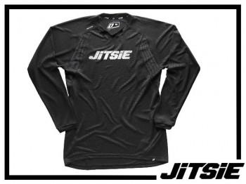 Jersey Jitsie Airtime langarm - schwarz/weiß