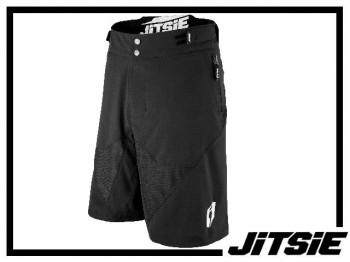 Short Jitsie Airtime - schwarz/weiß