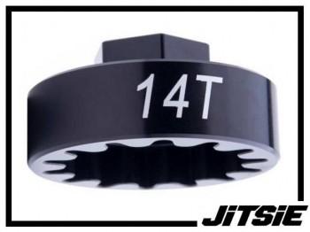 Jitsie Abzieher für Schraubritzel 14 Zähne