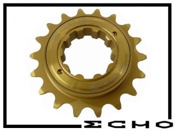 Freilaufritzel Echo SL Titan (108 clicks) 18 Z. - splined