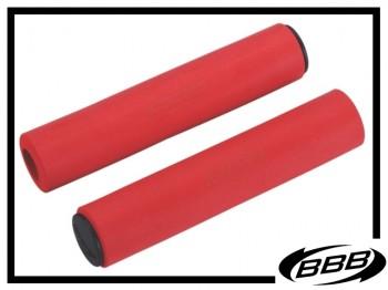 Lenkergriffe BBB Sticky soft 5,5mm - rot