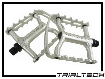 Pedale Trialtech Sport Lite Single Cage - silber