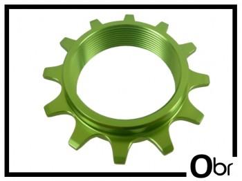 Schraubritzel Obr 12 Z. Aluminium