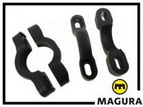 Halteschellen Magura - schwarz