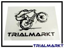 Aufkleber Trialmarkt - groß