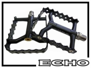 Pedale Echo SL Single Cage grün