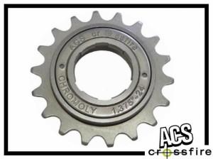 Freilaufritzel ACS Crossfire (30 clicks) 17 Z.