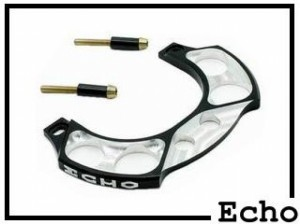Brake Booster Echo SL 2-Loch silber