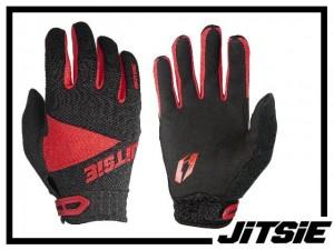Handschuhe Jitsie Airtime - rot XL