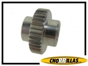 TPA Verstellrädchen Chorrillas Aluminium - silber
