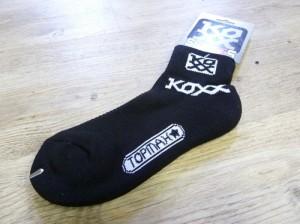 Socken Koxx - schwarz - Gr. 31-34