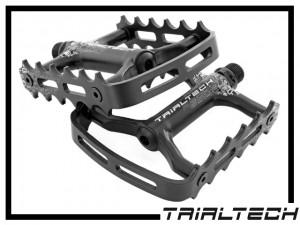 Pedale Trialtech Sport Lite Single Cage - schwarz