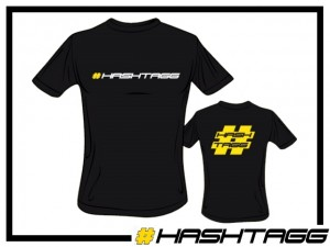 T-Shirt Hashtagg - Gr. S