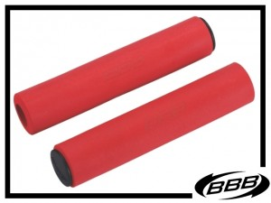 Lenkergriffe BBB Sticky soft 5,5mm - rot