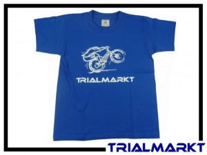 T-Shirt Trialmarkt Kids - Royal Blue 9/11 Jahre