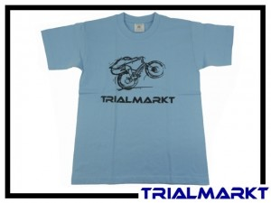 T-Shirt Trialmarkt Kids - Sky Blue