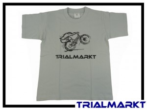 T-Shirt Trialmarkt Kids - Pacific Grey 3/4 Jahre