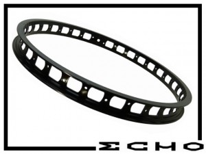 "VR-Felge 20"" Echo SL 38mm (32 Loch) - schwarz"