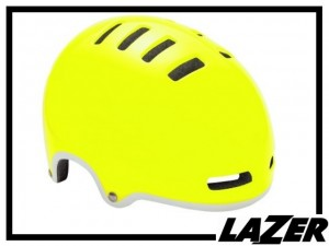 Helm Lazer Amor - leuchtgelb - L