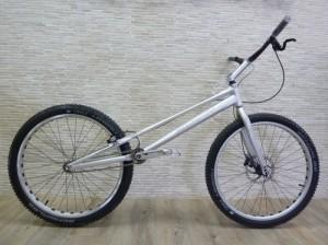 "Trial Bike 26"" Breath Yes - silber"