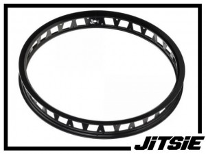"HR-Felge 19"" Jitsie Single Wall 48mm (32 Loch) - schwarz"