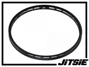 "VR-Felge 24"" Jitsie Single Wall 32mm (28 Loch) - schwarz"