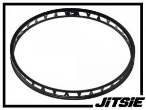 """HR-Felge 26"""" Jitsie Single Wall 48mm (32 Loch) - schwarz"""