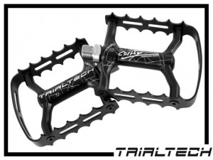 Pedale Trialtech Single Cage Carthy Signature - Titan