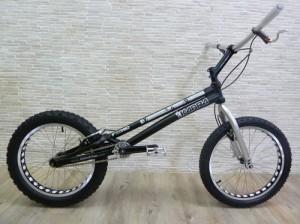 "Trial Bike 20"" Kabra HID - schwarz"