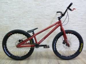 "Trial Bike 24"" Czar Streettrials - rot - 2016"