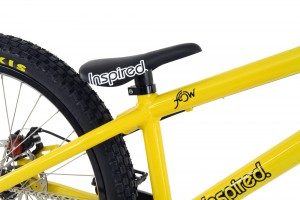 "Bike 24"" Inspired Flow 2016 - gelb"