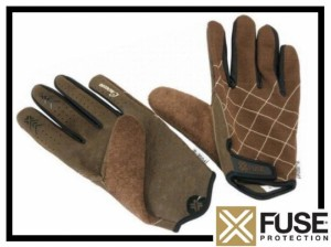 Handschuhe Fuse Prince - braun S