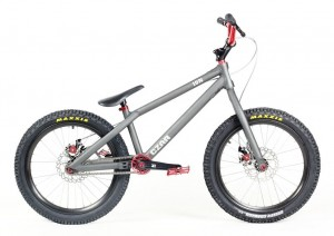 "Bike 20"" Czar Ion Kids - grau"