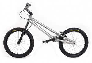 "Trial Bike 20"" Echo Kid - silber"