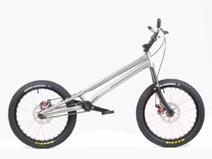 "Trial Bike 20"" Echo Kid Disc - silber"