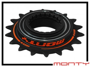 Freilaufritzel Monty Pro Race (135 clicks) 18 Z.