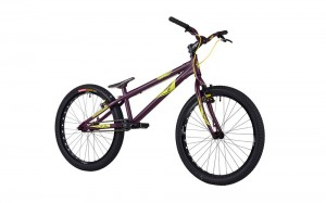 "Trial Bike 24"" Onza Zoot - maroon"