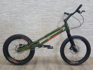 "Trial Bike 20"" Rockman Ash KID - grün"