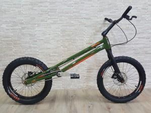 "Trial Bike 20"" Rockman Ash V2 - grün"