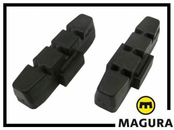Bremsbeläge Magura schwarz