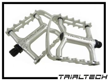 Pedale Trialtech Sport Lite Single Cage - silber