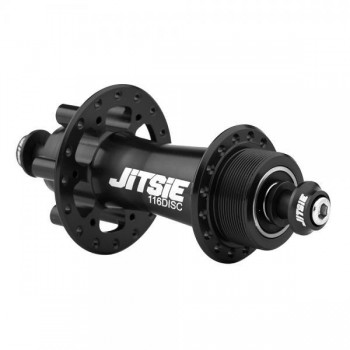 HR-Nabe Jitsie Race 116mm disc (32 Loch) - schwarz