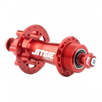 HR-Nabe Jitsie Race 116mm disc (32 Loch) - rot