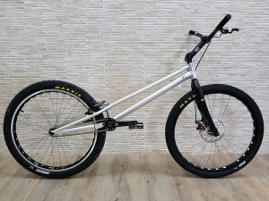 "Trial Bike 26"" Echo Pure - silber"