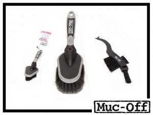 Muc-Off Premium Bürstenset 3-teilig